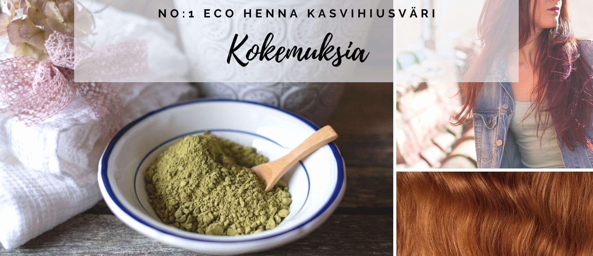 No_1 Eco Henna kasvihiusväri kokemuksia
