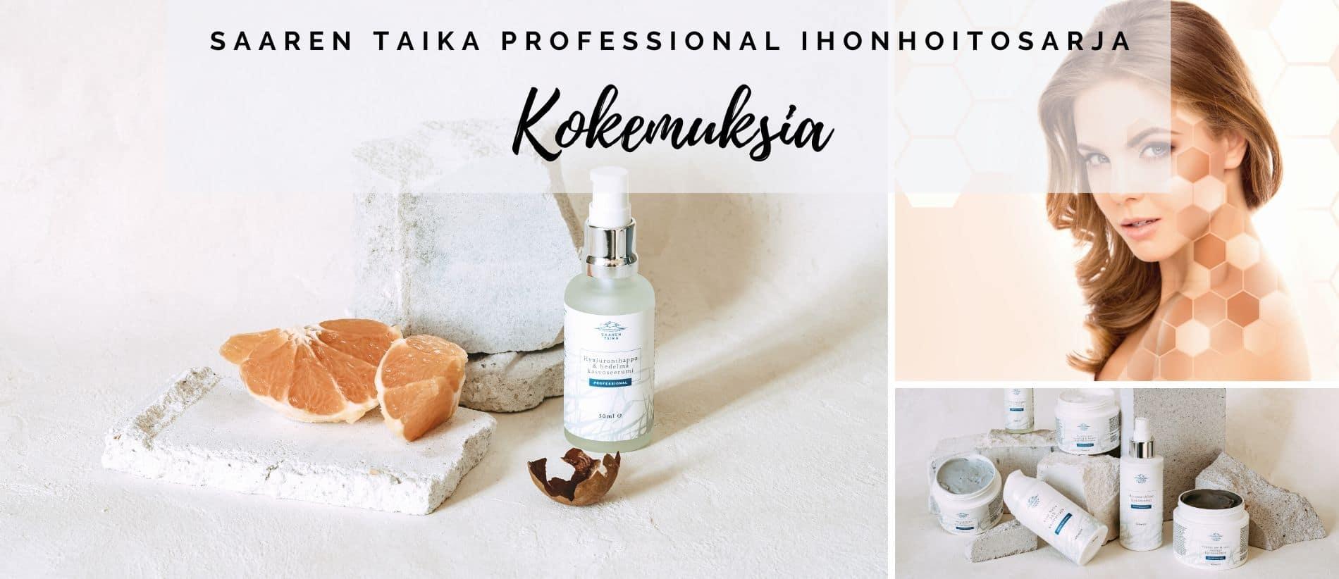 Saaren Taika Professional ihonhoitosarja kokemuksia