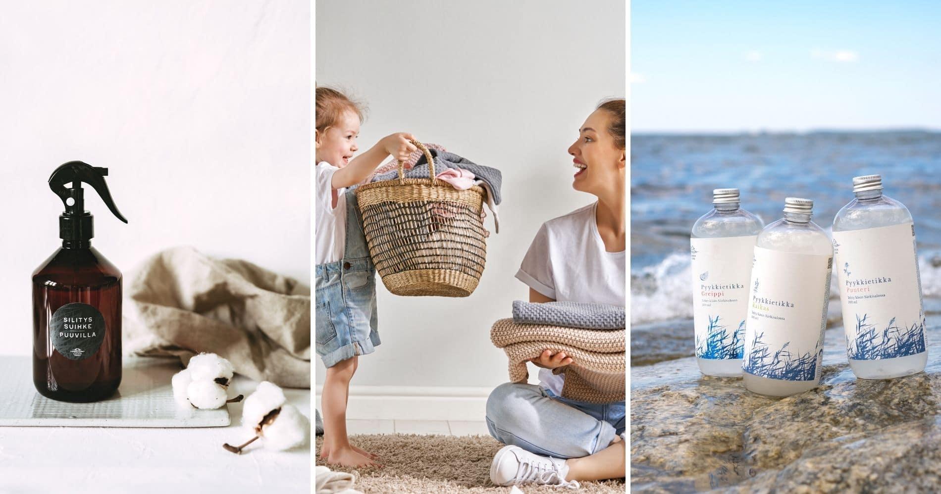100% biohajoavat ja ympäristölle ystävälliset Saaren Taika pyykkietikat ovat vegaanisia ja eläinkokeettomia (1)