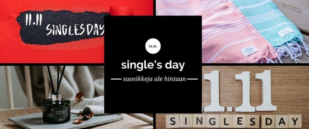 11.11. single's day saaren taika alennus