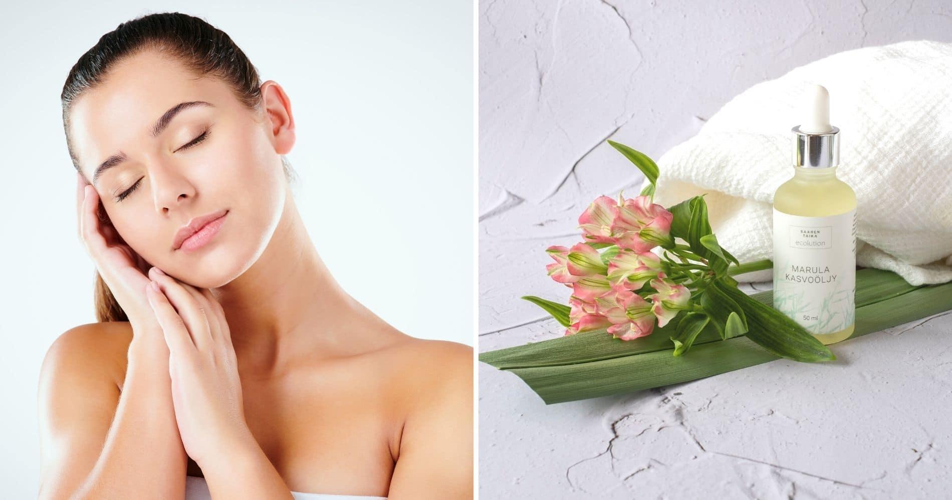 Kasvoöljyn tehtävänä on hoitaa ja siloittaa ihoa. Ne sisältävät ihon kimmoisuutta parantavia rasvahappoja. Kasvoöljy suojaa ihoa ja auttaa säilyttämään sen kosteuden.