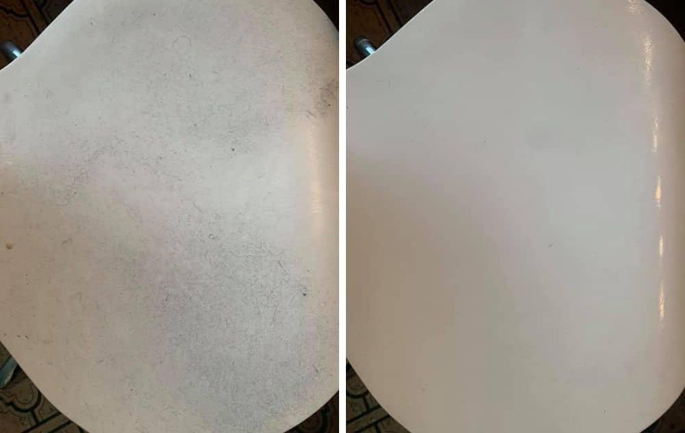 Tässä valkoinen tuoli joka ei ollut enää kovin valkoinen - Mutta tässä se valkoinen tuoli on valkoinen, Saaren taian greippisaippua pelasti päiväni